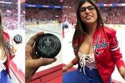 Mia Khalifa przejdzie operację, po tym jak hokejowy krążek przebił jej pierś
