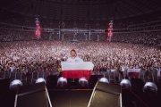Ed Sheeran wystąpił w koszulce z orłem na piersi podczas koncertu w Warszawie