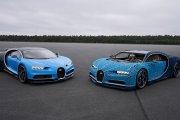 Lego zbudowało pełnowymiarowe Bugatti Chiron, którym można jeździć