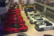 Jak wygląda prywatna kolekcja superaut za 500 milionów zł