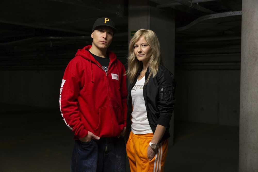 Małgorzata Kożuchowska i Piotr Witkowski w filmie 'Proceder', fot. Tomasz Ozdoba - Global Studio.jpg