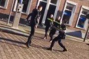 Polak w pojedynkę sterroryzował trzech holenderskich policjantów