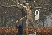 Ibrahimović podpadł kibicom. Zniszczyli jego pomnik