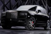 SUV na bogato. Rolls-Royce Cullinan Black Badge