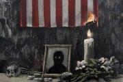 Banksy pokazał nowe grafitti. Mocny głos w sprawie George'a Floyda