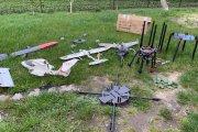 Drony przemytnicze przechwycone. Miały dostarczyć papierosy do Polski