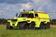 Ambulans do zadań specjalnych. ATV Shaman z napędem 8x8