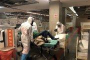 Szpital Narodowy świętuje przyjęcie pacjenta. Zorganizowano nawet sesję zdjęciową