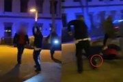 Konstancin-Jeziorna - strzały na stacji paliw. Napastnik i policjant zabrani do szpitala [WIDEO]