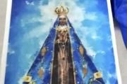 Boski przemyt: kilogram kokainy w obrazie religijnym