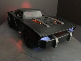 Batmobil muscle car